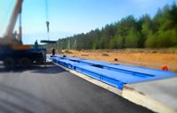 Придорожная установка автомобильных весов ВАЛ 100 тонн. фото #47